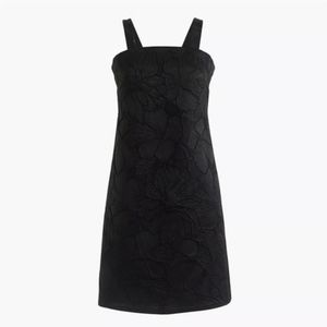 NWT J.Crew Floral Embossed Convertible Strap Dress